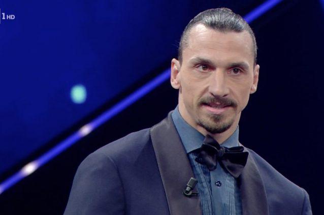 Ibrahimovic arriva a Sanremo 2021 in ritardo causa incidente in autostrada