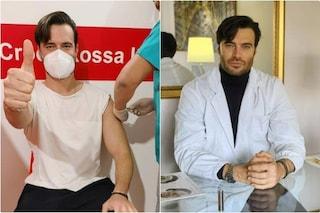 """Giulio Berruti vaccinato a 36 anni, l'attore si difende: """"Sono un odontoiatra"""""""