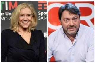 """Giovanna Botteri e Sigrifido Ranucci ospiti di Maurizio Costanzo a """"S'è fatta notte"""""""