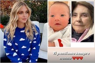 """Chiara Ferragni e la foto malinconica: """"Vittoria somiglia a nonna Maria morta l'anno scorso"""""""