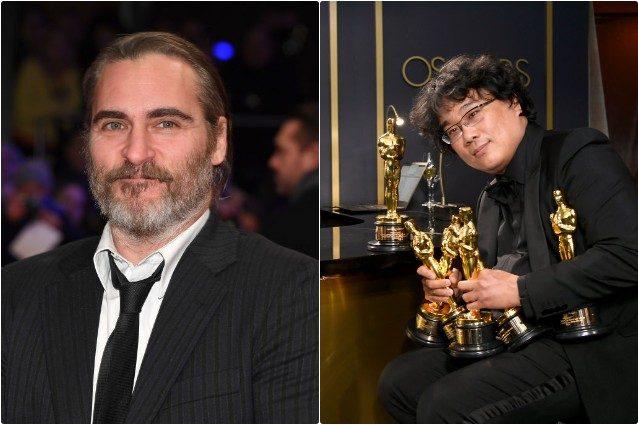 Joaquin Phoenix e Bong Joon Ho
