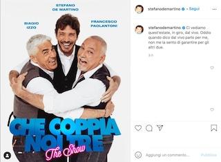Che coppia noi tre: lo show di Stefano De Martino, Biagio Izzo e Francesco Paolantoni