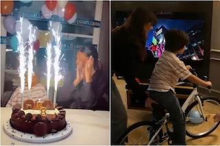 Santiago festeggia il compleanno, il party casalingo e come ha partecipato Stefano De Martino