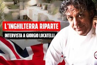 """L'Inghilterra riparte, Giorgio Locatelli: """"Fiducia in vaccino Astrazeneca, l'unico modo per uscirne"""""""