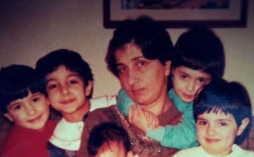 Anna Calise Moroni e le sue cinque figlie