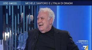 """Michele Santoro torna in tv: """"La Rai fa programmi dall'1% di ascolti e nemmeno si pone il problema"""""""