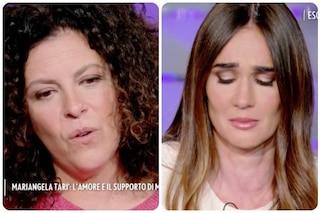 Silvia Toffanin non trattiene le lacrime a Verissimo per la storia di Mariangela Tarì