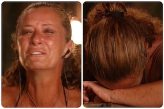 Isola dei Famosi, Valentina Persia piange disperata per il messaggio dei figli Lorenzo e Carlotta
