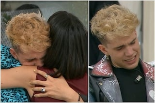 Aka7even in lacrime dopo l'uscita di Martina da Amici 2021, un video svela il loro saluto
