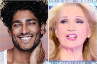 Akash si scusa con Iva Zanicchi prima di arrivare in studio all'Isola dei Famosi 2021