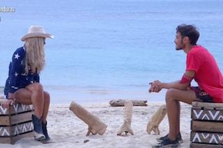 """Il confronto tra Vera Gemma e Awed all'Isola 2021: """"Mi fidavo di te, mi devi delle scuse"""""""