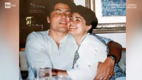 Carmela e il marito Fabrizio, l'omaggio a Domenica In