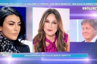 """Caterina Collovati accusa Giulia Salemi: """"Hai importunato mio marito"""", la risposta di Fulvio"""