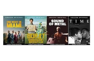 Oscar 2021: ecco i film candidati disponibili in streaming su Amazon Prime Video