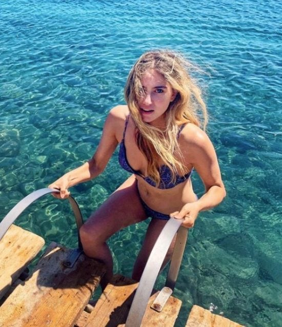 Miriam Galanti, fidanzata di Gilles Rocca