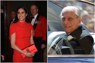 Meghan Markle ha assistito ai funerali del Principe Filippo da casa, inviata una ghirlanda speciale
