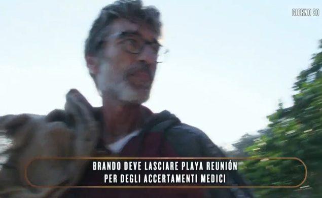 Brando Giorgi lascia temporaneamente l'Isola dei famosi