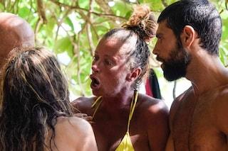 """""""Le tue leccate di c**o non mi interessano"""": scontro all'Isola 2021 tra Fariba, Gilles e Valentina"""