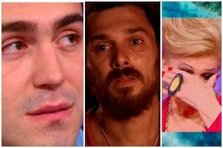 Andrea Cerioli piange ricordando la mamma, in lacrime anche Tommaso Zorzi e Iva Zanicchi