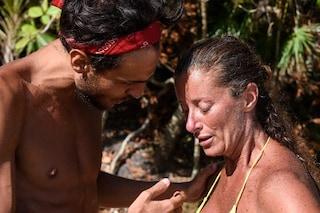 L'isola dei famosi, Valentina Persia scoppia a piangere: il motivo dello sconforto della naufraga