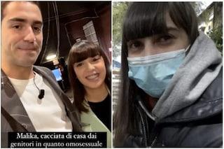 Tommaso Zorzi e Malika insieme al Maurizio Costanzo Show