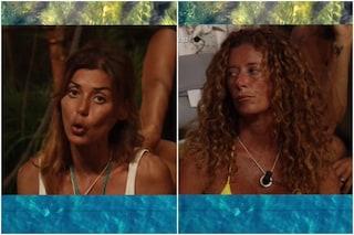 """Daniela Martani: """"Sono vegana e non mangio pesce, mi spetta più riso"""", scoppia la lite all'Isola"""