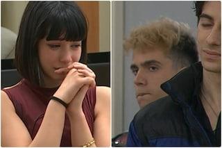 Amici 2021: Martina Miliddi lascia la scuola senza l'abbraccio dell'ex Aka7even che resta lontano