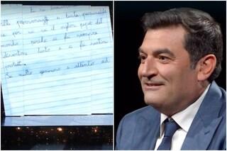 """Max Giusti e la lettera dei figli: """"Ci proteggi e ti sacrifichi per noi"""", la reazione del conduttore"""