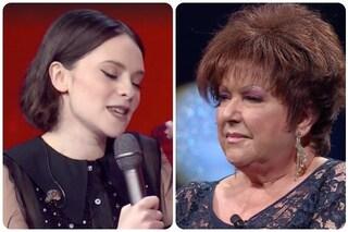 """Francesca Michielin canta per Orietta Berti a Canzone Segreta: """"Mi ha fatto piangere"""""""