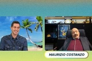 """Maurizio Costanzo: """"Isola dei Famosi? Sono sconosciuti"""". Poi annuncia uno show con Tommaso Zorzi"""