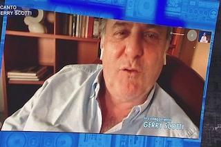 """Gerry Scotti ad Amici 2021, le lacrime: """"Mi avete fatto commuovere"""""""
