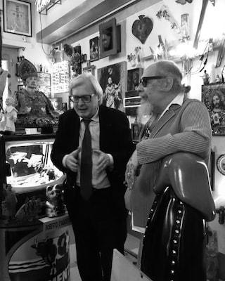 Sgarbi e D'Agostino, la pace a 30 anni da quella rissa in TV che finì a schiaffi