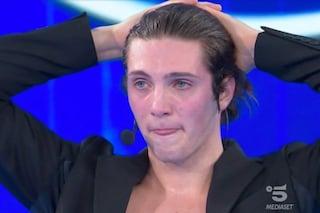 Amici 2021: Tommaso Stanzani è eliminato, le lacrime dei compagni