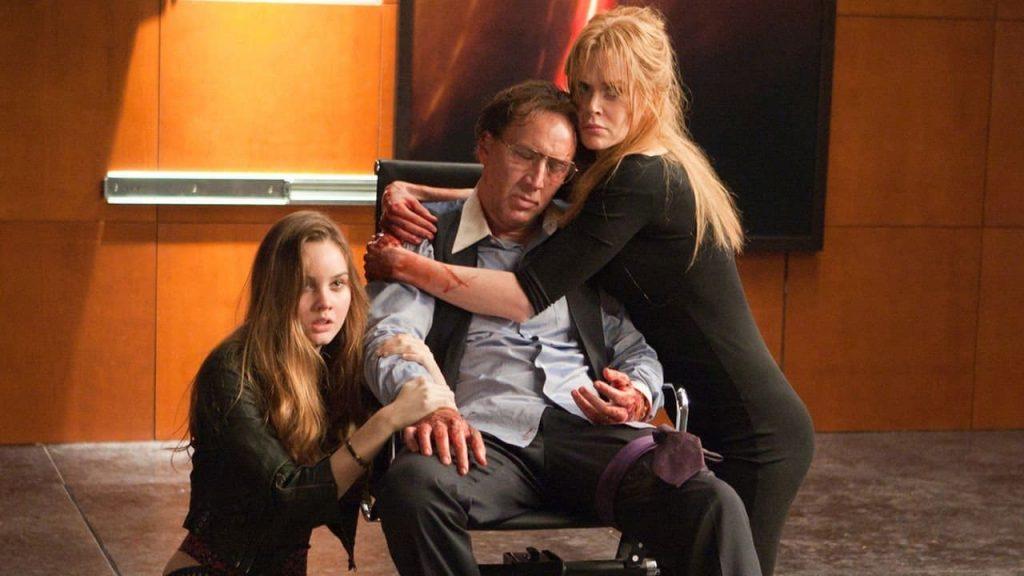 Una scena del film Trespass