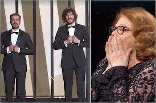 """Valeria Fabrizi non riconosce Gianmarco Saurino e Pierpaolo Spollon: """"Ma chi sono questi?"""""""