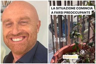 """Le fan di Sangiovanni sotto casa di Rudy Zerbi: """"La situazione è preoccupante"""""""