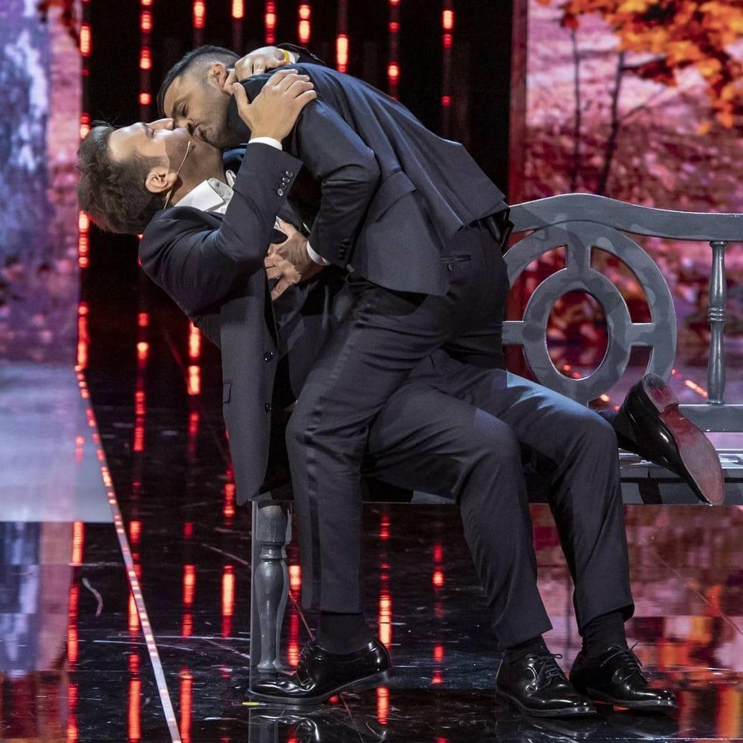 """Pio e Amedeo sul palco di """"Felicissima Sera"""""""