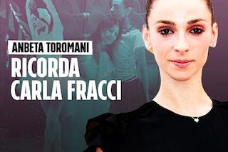 """Carla Fracci, le lacrime di Anbeta Toromani: """"La più grande, ma voleva la chiamassi per nome"""""""
