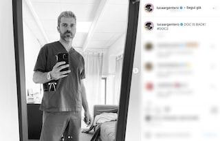 Luca Argentero è di nuovo Andrea Fanti, le prime foto dal set di DOC-Nelle tue mani 2
