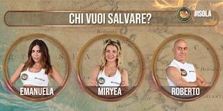 Isola dei Famosi 2021, nominati Emanuela Tittocchia, Miryea Stabile e Roberto Ciufoli