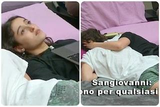 """Amici20, Giulia e i dubbi su Sangiovanni: """"Anche se smetterò di piacerti ci sarai per me?"""""""