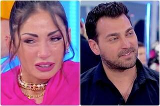 """Ida Platano in lacrime, Maria De Filippi: """"Due anni che parli di Riccardo"""" e le fa notare Gabriele"""