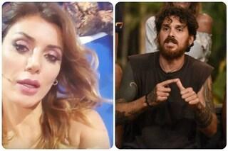 Isola dei Famosi, Daniela Martani in diretta prende di nuovo in giro Andrea Cerioli sul suo fisico
