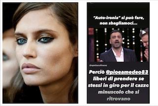 """Bianca Balti sbotta contro Pio e Amedeo, la modella su Instagram: """"Ce l'avete piccolo"""""""