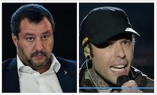 Fedez attacca la Lega al Primo Maggio, Salvini risponde nella notte alle accuse