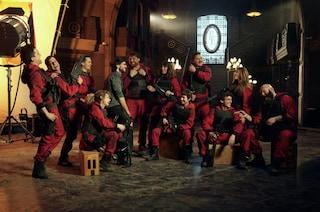 Finite le riprese de La casa di Carta 5, il commovente annuncio di Netflix