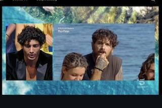 All'Isola dei Famosi Akash rimprovera Andrea Cerioli, che però non sa chi è
