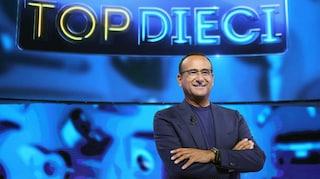 Top Dieci stasera in TV, ultima puntata: ospiti e concorrenti delle due squadre