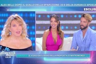 La proposta di nozze di Alex Belli a Delia Duran, svelato il giallo della loro scomparsa