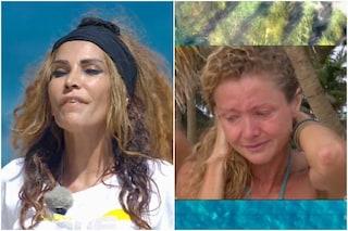 Isola dei Famosi, Fariba Tehrani è eliminata e Angela Melillo in lacrime torna a casa